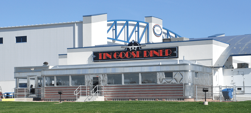 Tin Goose Diner, Port Clinton, Ohio